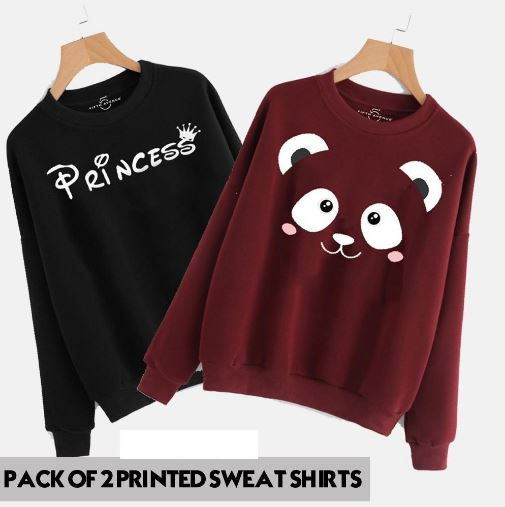 Pack of 2 sweat