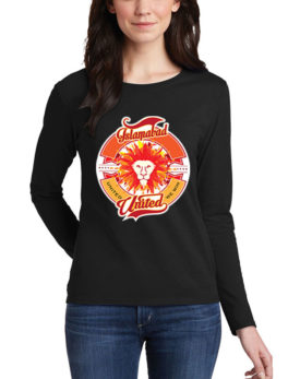 islamabad-united black t-shirt for women