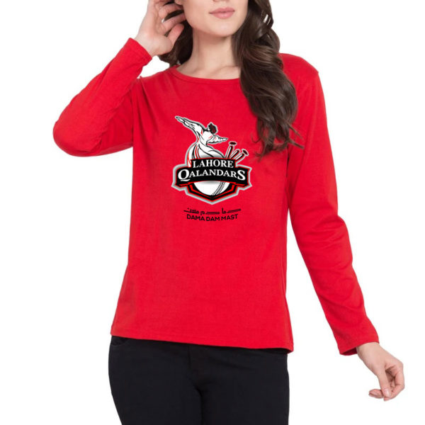 lahore-qalandars-red-t-shirt