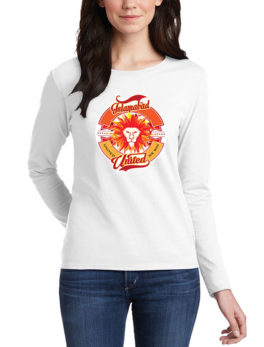 islamabad united white t-shirt for women