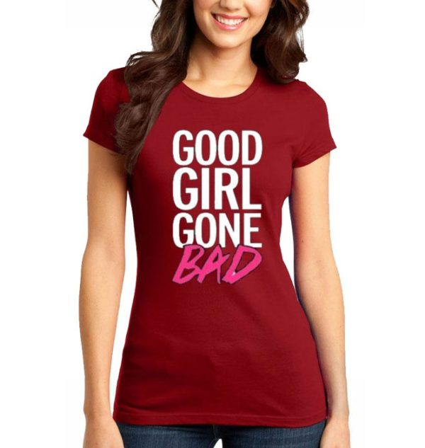 Good Girl Printed T-Shirt In Red