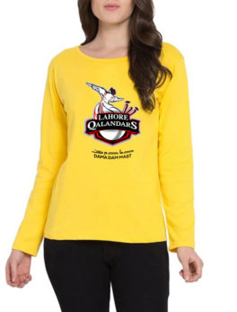 lahore-qalandars-yellow-t-shirt