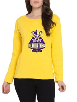 quetta-gladiators-yellow-t-shirt