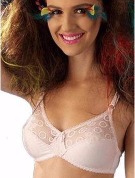Cotton Bra Be Belle Initimage-S Pink Shade
