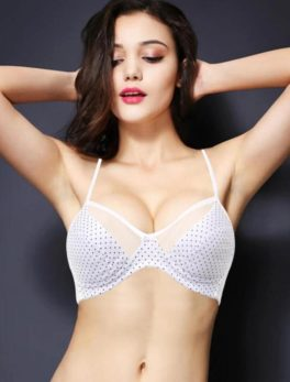 Cotton Bra Vena Lingerie Soft Padded In White