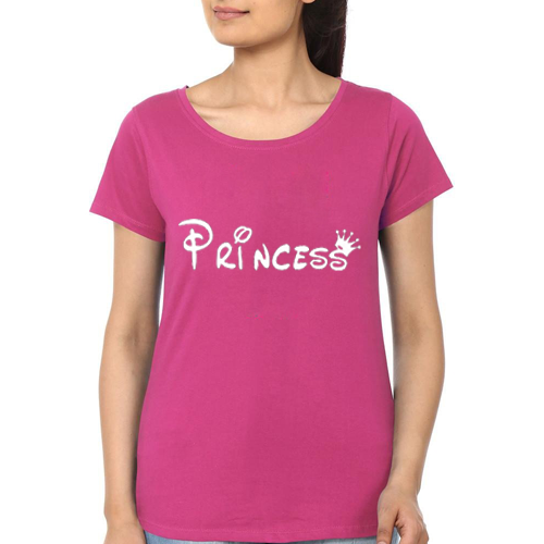 Princes Printed T-Shirt In Pink